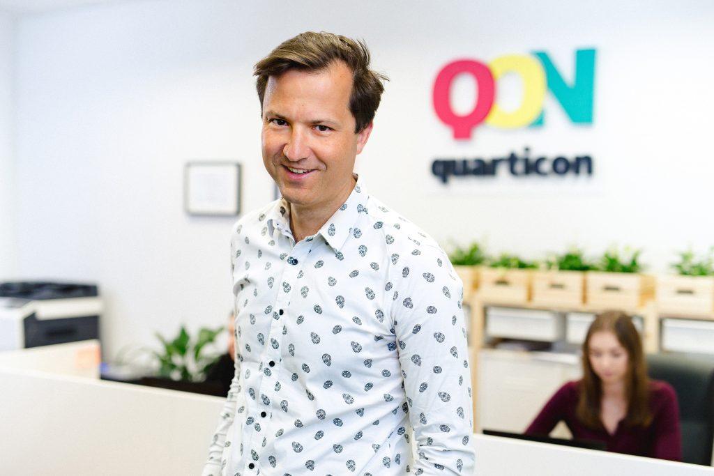 Paweł Wyborski, QuarticOn Founder & CEO