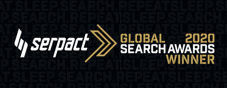 Serpact Global Search Awards Winner 2020